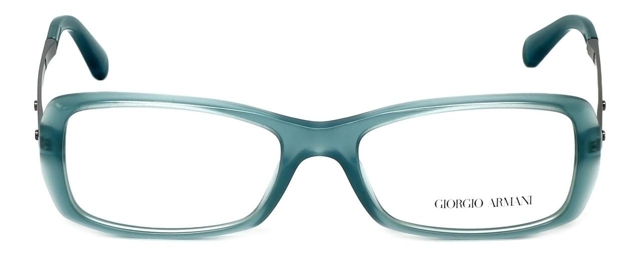 4cbc18110220 Giorgio Armani Designer Reading Glasses AR7011-5034 51mm in Green Water Opal