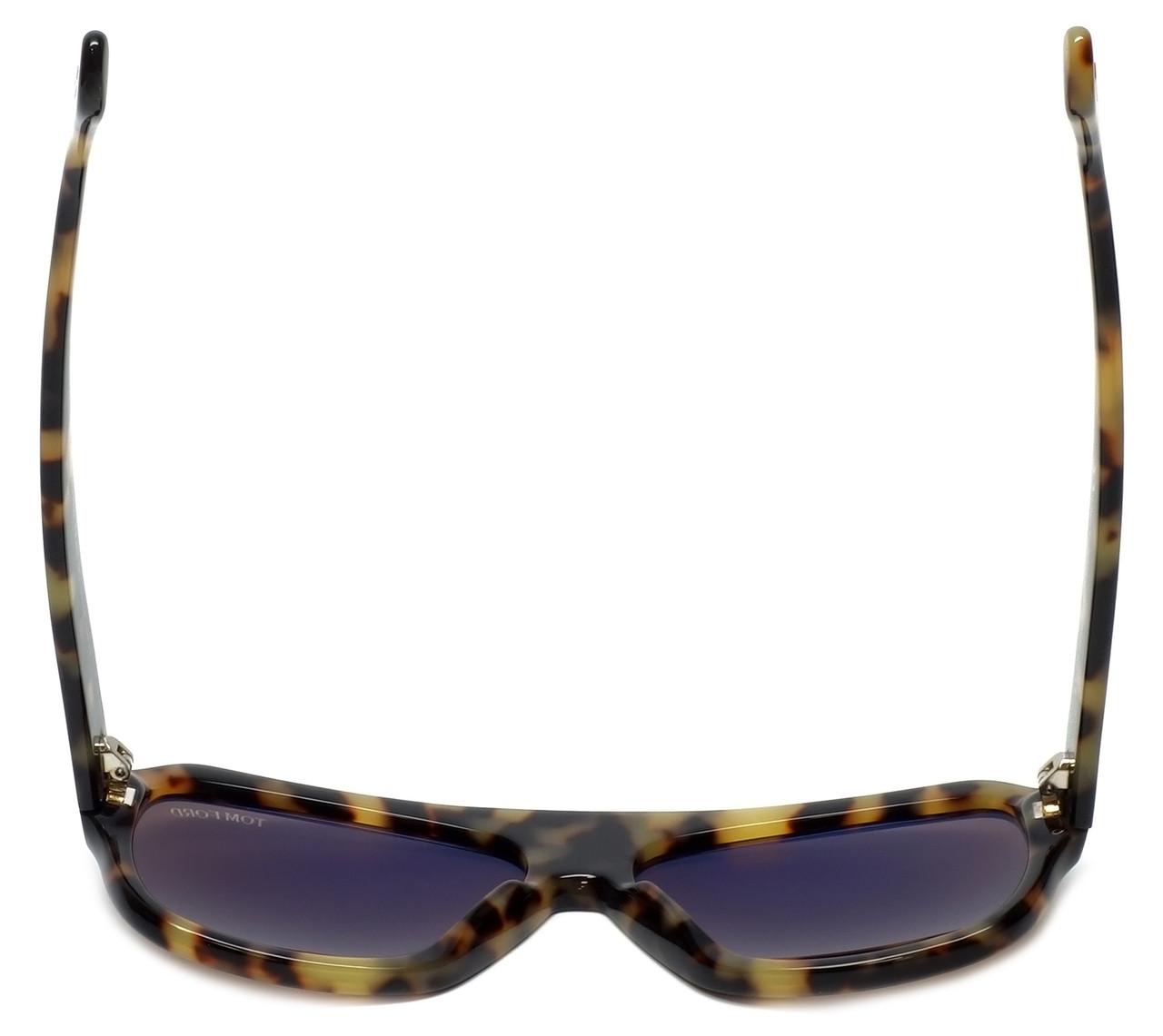 Tom Ford Omar TF 465 56J Tortoise Sonnenbrille Sunglasses Brown Lens 59m