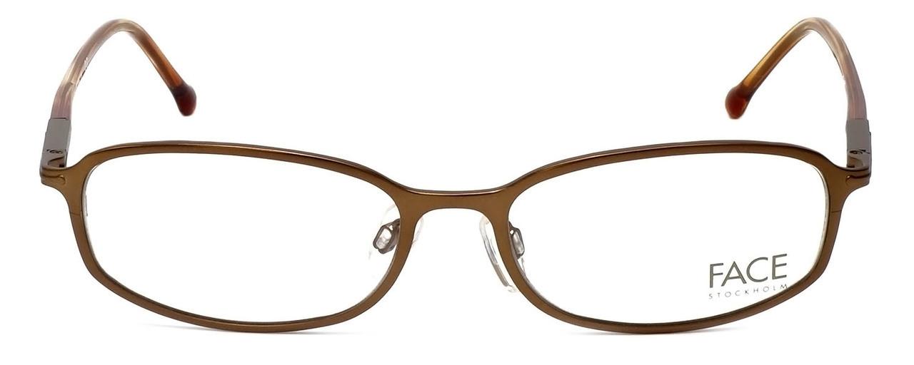 FACE Stockholm Blush 1302-5201 Designer Reading Glasses in Brown