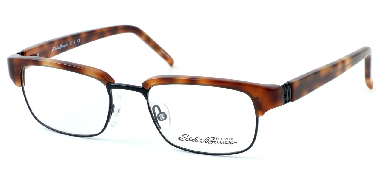 51befaf484 Eddie Bauer Designer Reading Glasses EB8319 in Demi-Blonde 49mm - Speert  International