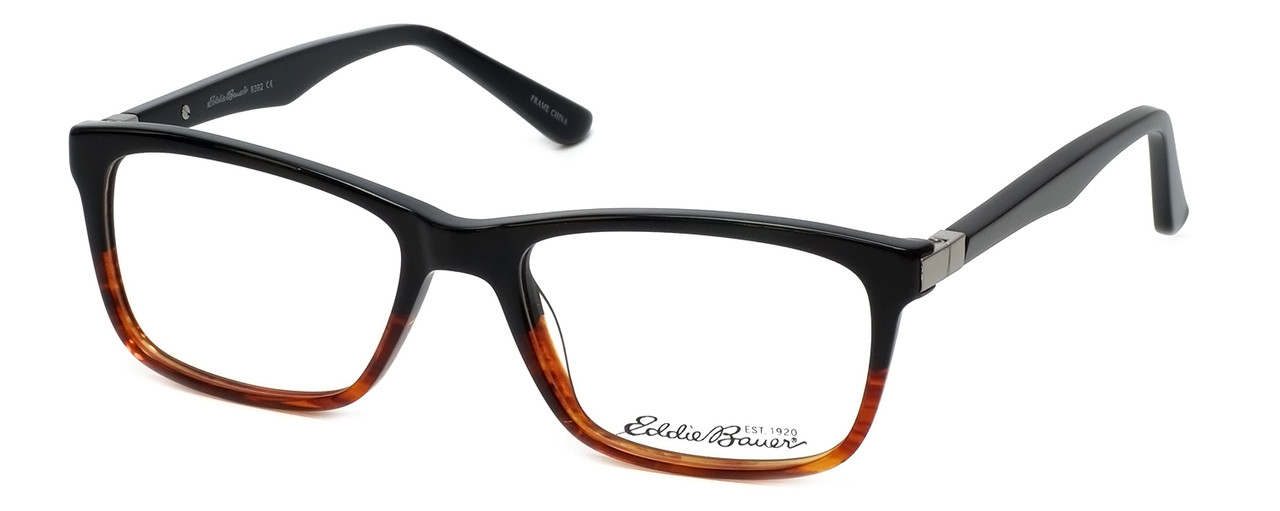 27c0fe05edb Eddie Bauer Designer Reading Glasses EB8392 in Black-Tortoise 53mm ...