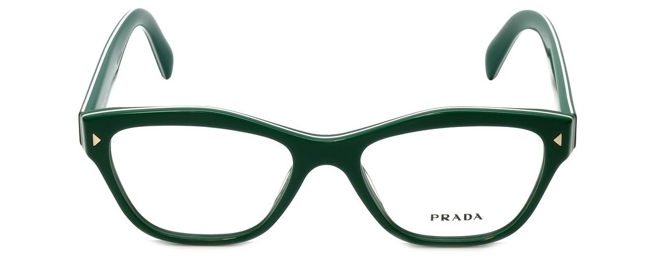 f157b305e46d Prada Designer Eyeglasses VPR27S-UR11O1 in Green 51mm    Progressive ...
