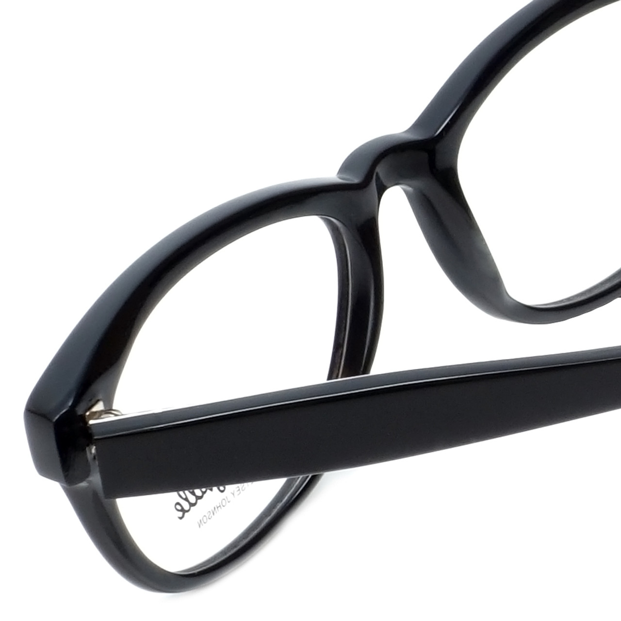 4f320f3a5f8 Betsey Johnson Designer Eyeglasses Pinwheel BV114-01 in Black 52mm    Rx Bi-
