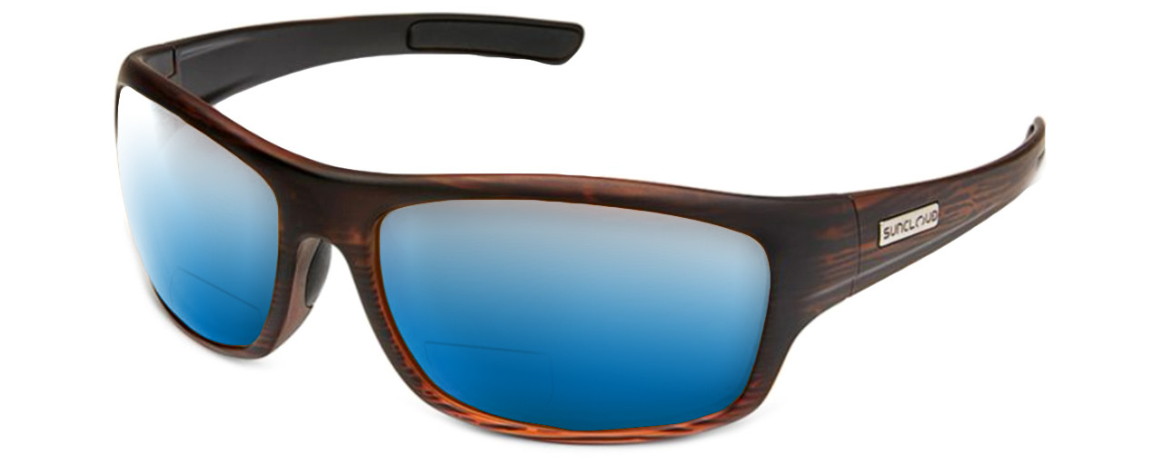 b483310695 ... Suncloud Cover Polarized Bi-Focal Reading Sunglasses. Previous.  Burnished Brown Blue Mirror
