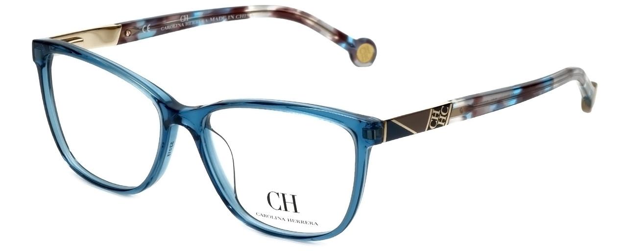 29604dffb2d Carolina Herrera Designer Eyeglasses VHE761K-06N1 in Blue 53mm     Progressive