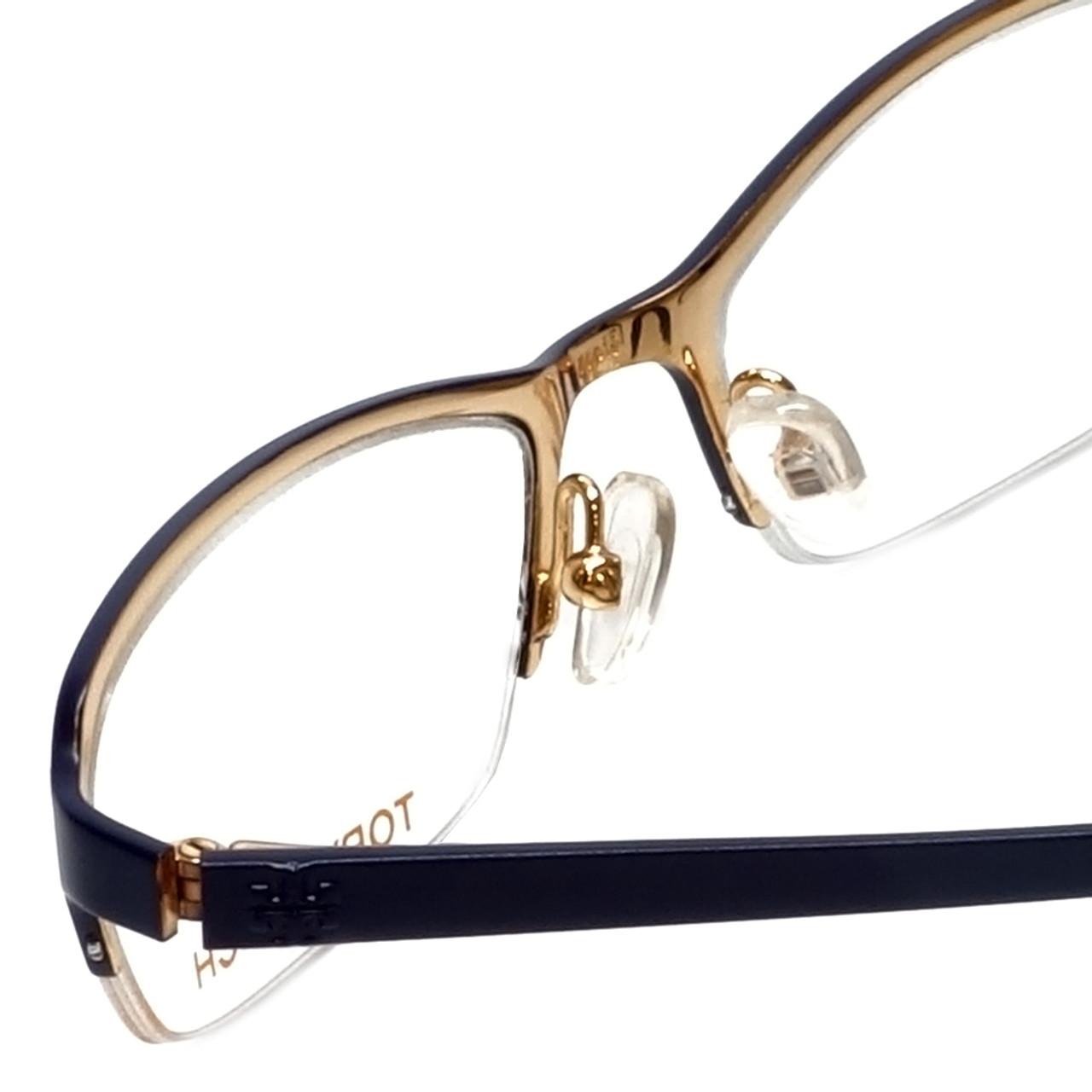 VERA WANG Eyeglasses V385 Navy 53MM