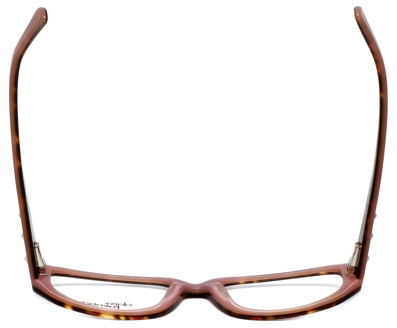 1eb141b04a Daisy Fuentes Designer Reading Glasses DFNATALIE-145 in Tortoise Pink 51mm