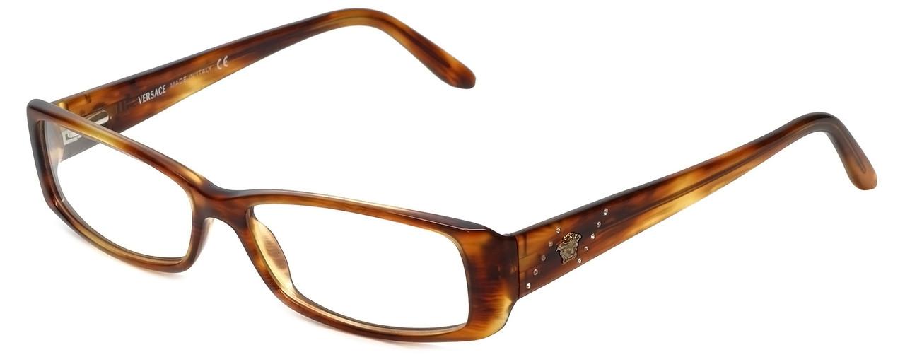 0bd743c09cf Versace Designer Eyeglasses 3058B-163 in Tortoise 53mm    Rx Bi ...