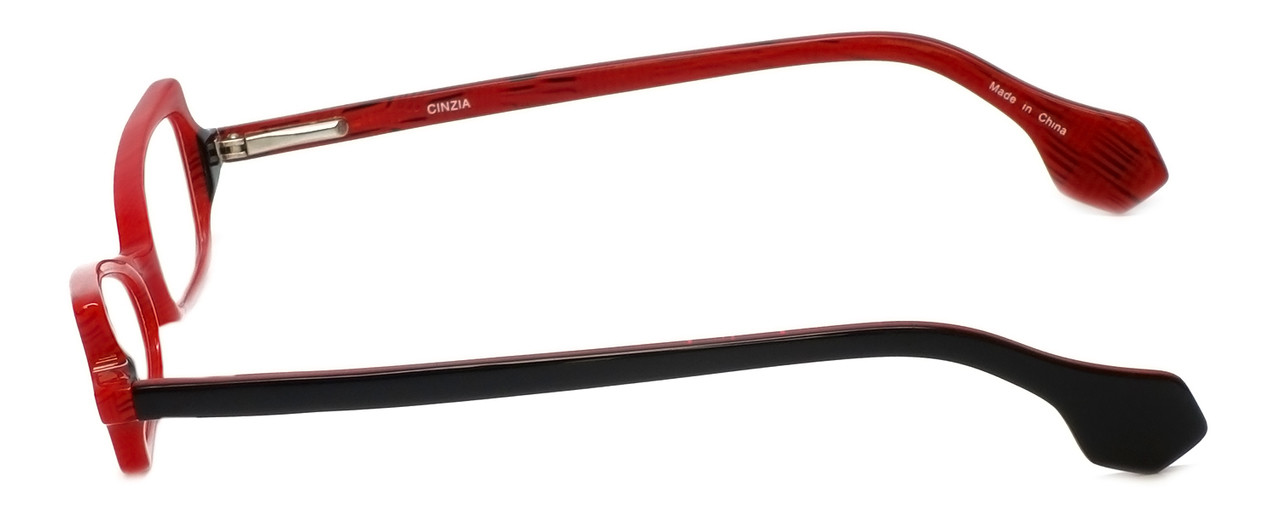 Cinzia Designer Reading Glasses Bewitched C3 in Red 42mm