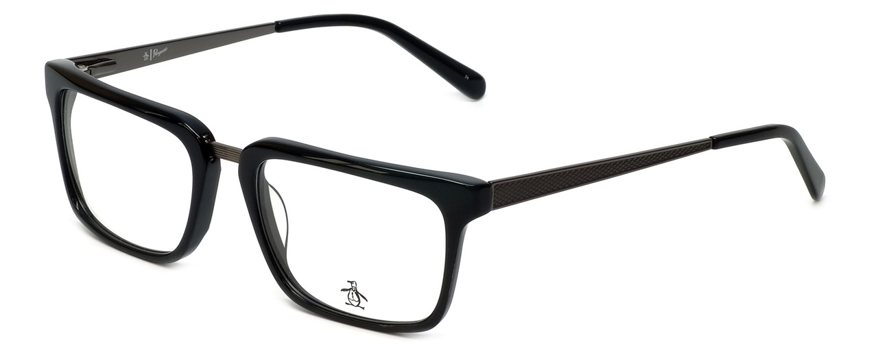 24d6bcd6f387 Original Penguin Designer Reading Glasses The Stanford in Black 53mm ...