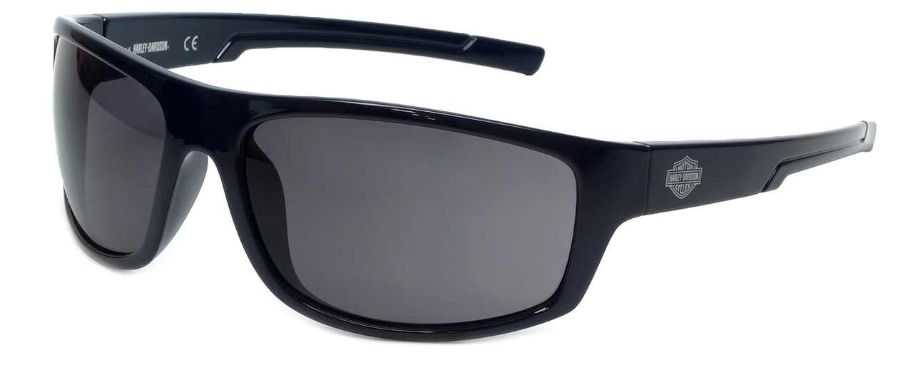1aed9f197c1 Harley-Davidson Official Designer Sunglasses HD0115V-90A in Navy Blue Frame  with Smoke Lens
