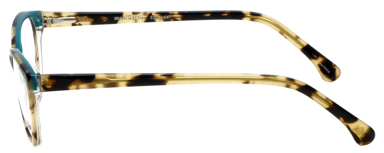 e277b23eded79 Marie Claire Designer Reading Glasses MC6201-TBL in Tortoise Blue 53mm
