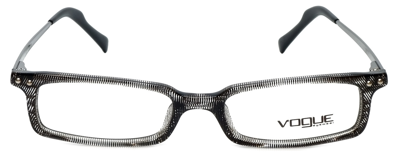 Vogue Designer Eyeglasses VO2380-1265 in Black Screen 48mm :: Progressive
