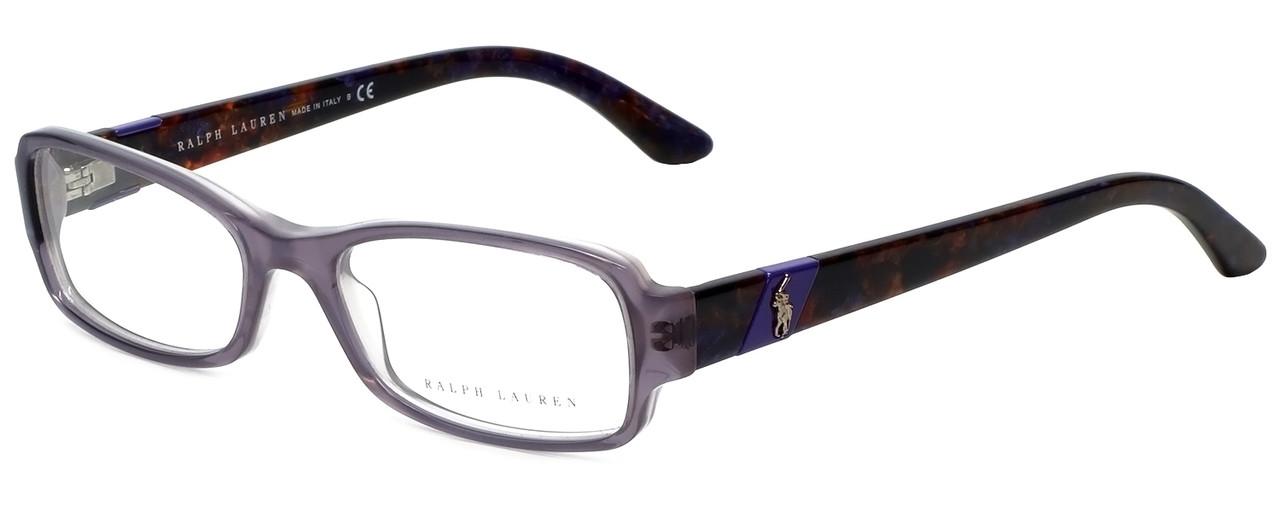 Ralph Lauren Designer Eyeglasses RL6075-5306 in Lilac 50mm :: Custom ...