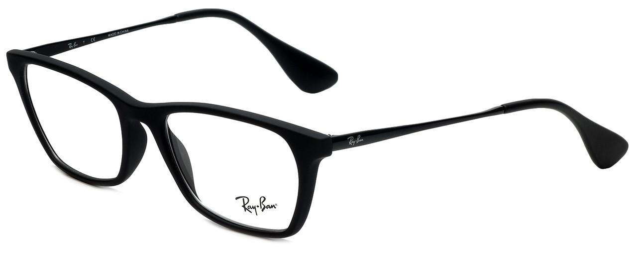 85f7e0aa70a72 Ray-Ban Designer Eyeglasses RB7053-5364 in Matte Black 52mm    Rx Single  Vision - Speert International