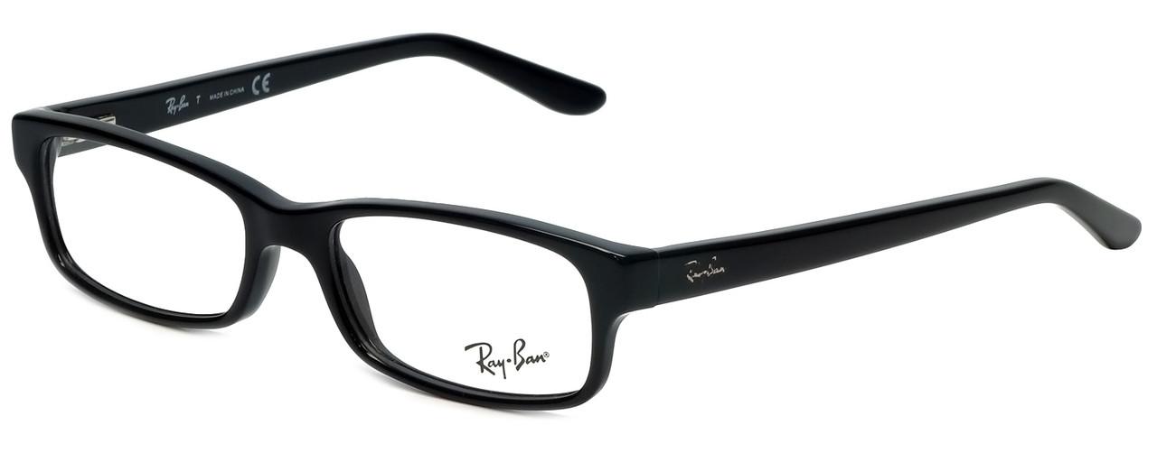 681e6bdbe5 Ray-Ban Designer Eyeglasses RB5187-2000 in Black 50mm    Progressive -  Speert International