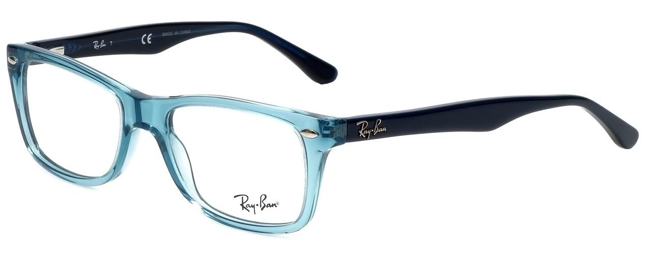 fd191a5ef9 ... Ray-Ban Designer Eyeglasses RB5228-5235 in Transparent Blue 50mm    Rx  Bi ...