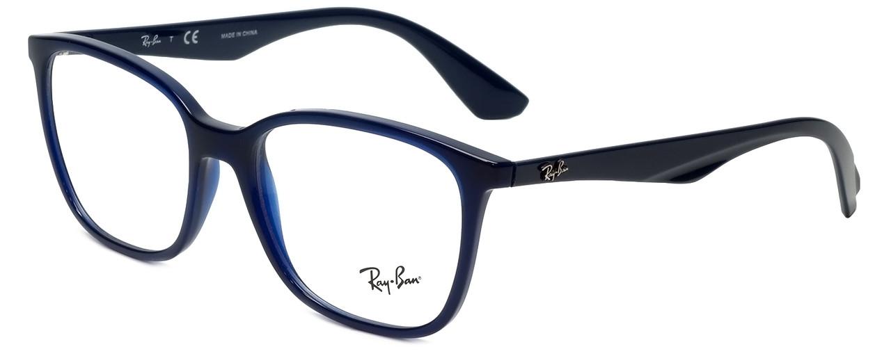 39351bfa86d16 Ray-Ban Designer Eyeglasses RB7066-5584-54 in Dark Navy 54mm ...