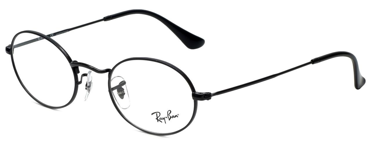 8c34b12359ada Ray-Ban Designer Reading Glasses RB3547V-2509 in Black 48mm - Speert ...