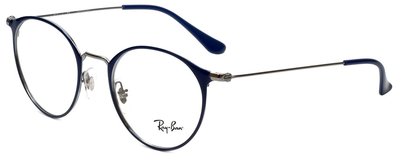 bea6928cce ... Ray-Ban Designer Eyeglasses RB6378-2906 in Blue 49mm    Rx Bi- ...