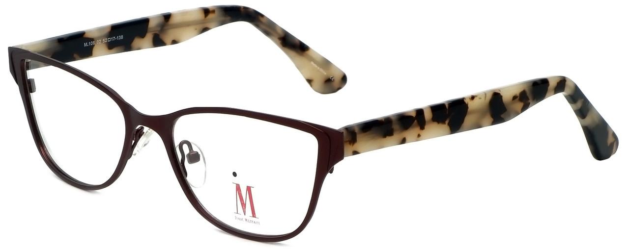 7d0a0351356 Isaac Mizrahi Designer Eyeglasses M106-02 in Brown 52mm    Custom ...