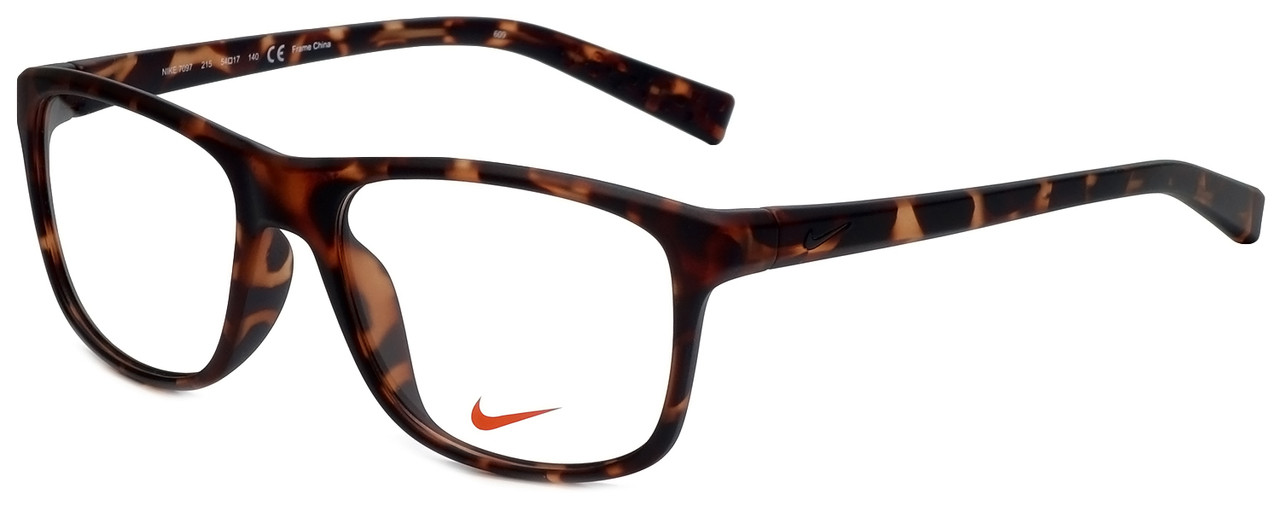 a52c9d3df31d Nike Designer Eyeglasses Nike-7097-215 in Matte Tortoise 54mm :: Custom  Left & Right Lens - Speert International