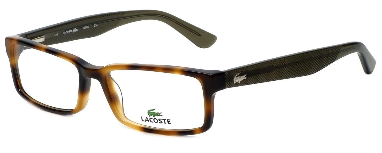 1133b16f69ff Lacoste Designer Reading Glasses L2685-214 in Havana 53mm - Speert  International