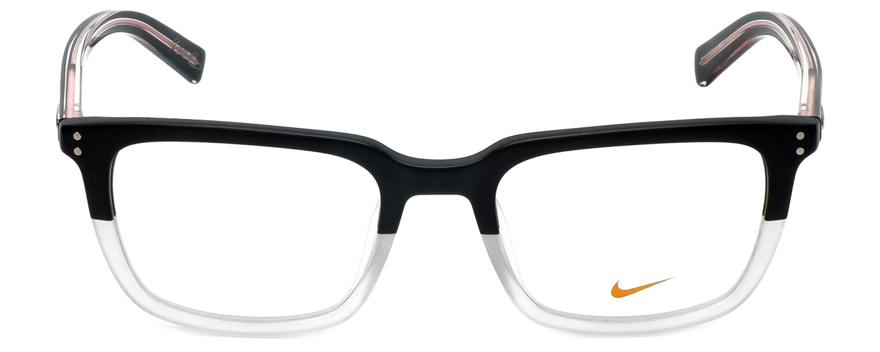 f1eb89bfdc Nike Designer Reading Glasses Kevin Durant 37KD-010 in Matte Black Crystal  Clear 52mm