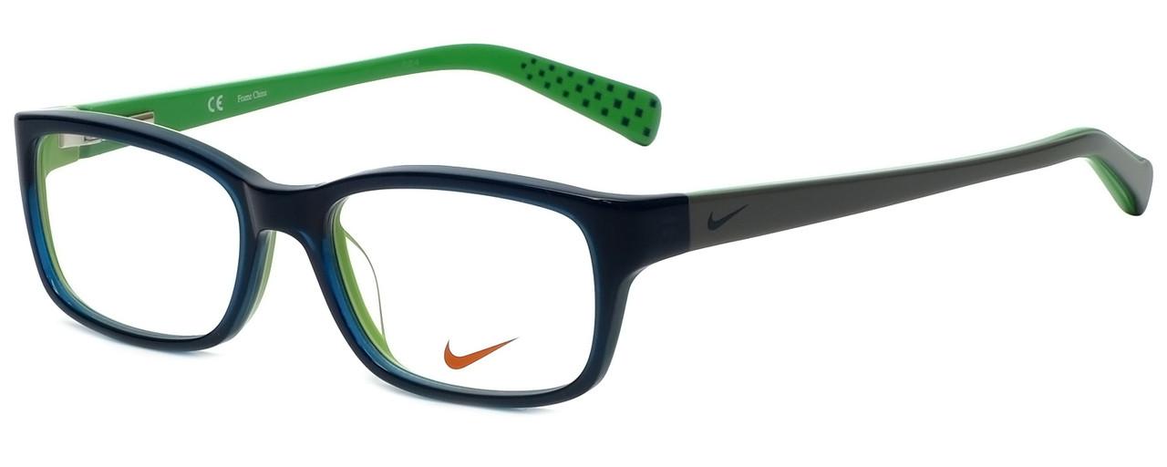 17d036c334e3 Nike Designer Reading Glasses 5513-325 in Dark Sea Mineral Teal 49mm ...