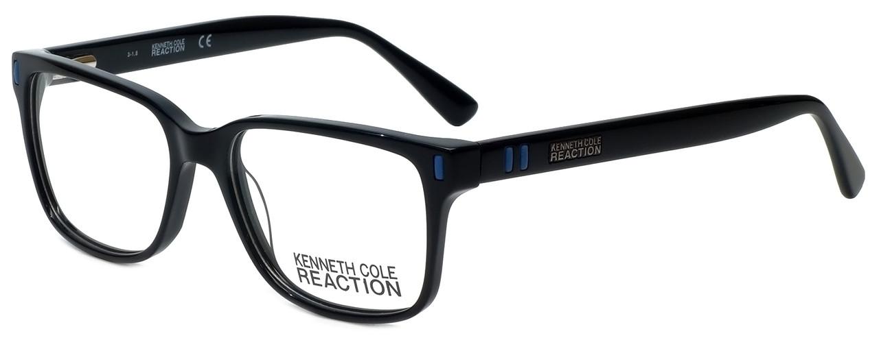 c40756f49e0 Kenneth Cole Designer Reading Glasses Reaction KC0786-001 in Black 53mm -  Speert International