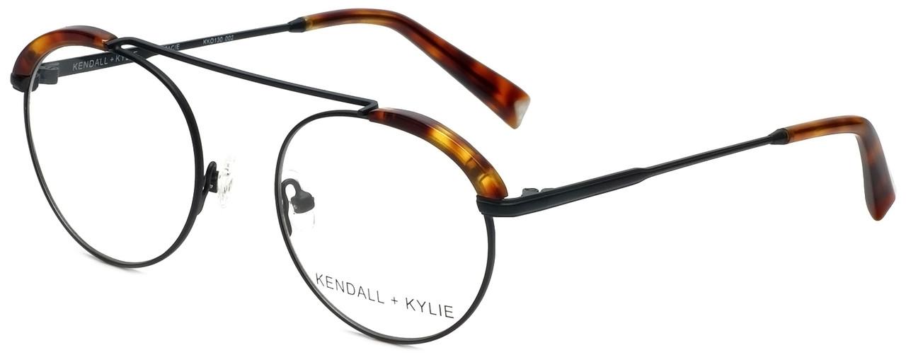 ae769ca24 Kendall + Kylie Designer Eyeglasses Stacie KKO130-002 in Black 48mm :: Rx  Single Vision - Speert International