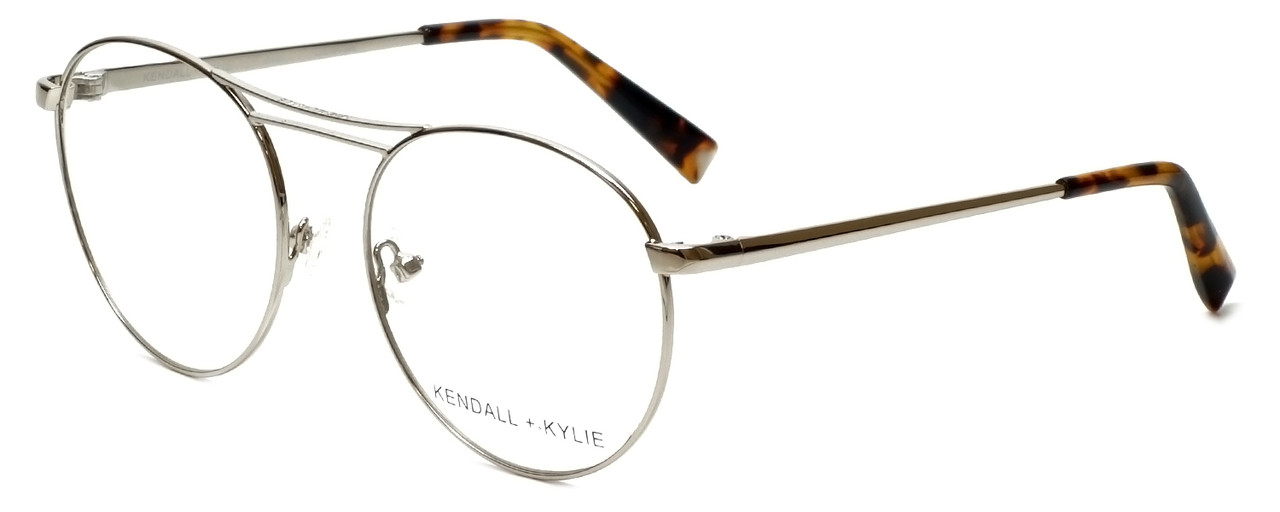 ea3ce38a2 Kendall + Kylie Designer Eyeglasses Nikki KKO131-045-50 in Silver 50mm ::  Progressive - Speert International