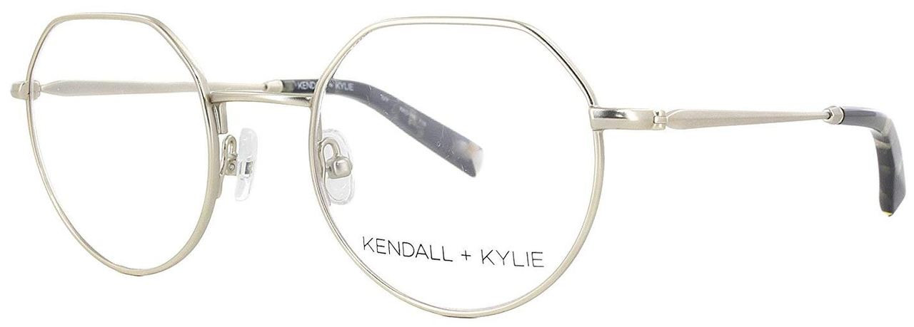 48b81e1af Kendall + Kylie Designer Eyeglasses Ivy KKO116-718 in Gold 47mm ::  Progressive - Speert International