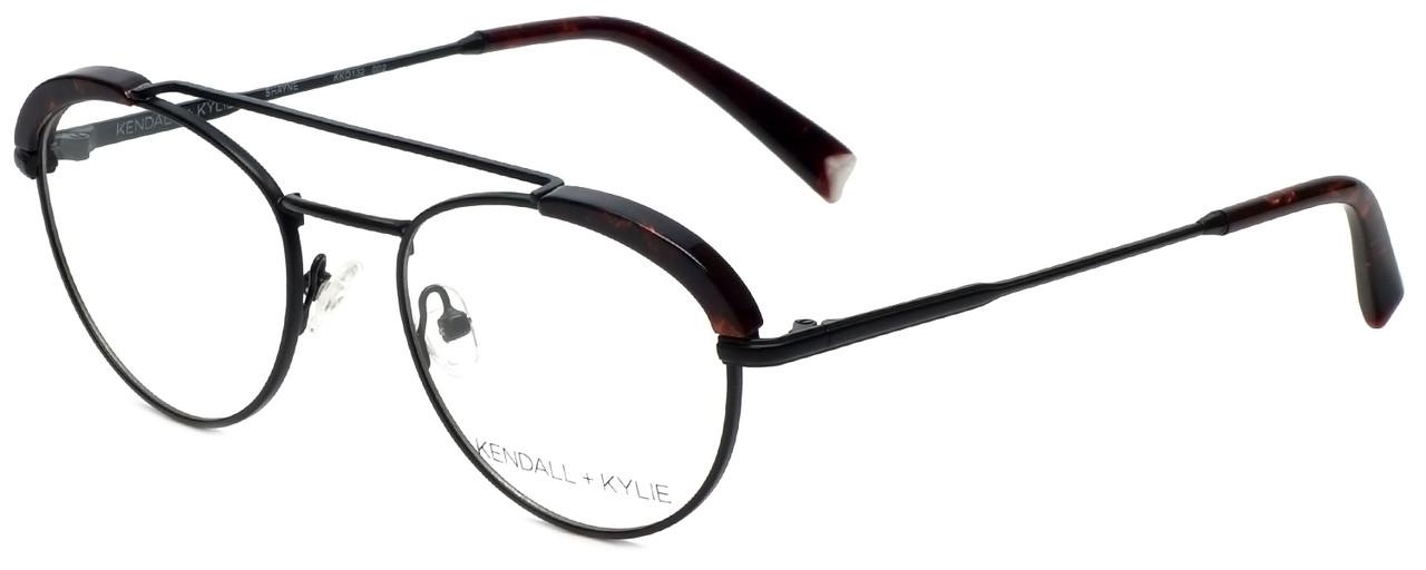 c41a58613343 Kendall + Kylie Designer Reading Glasses Shayne KKO132-002 in Black 50mm -  Speert International