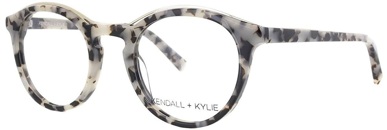 26592b04e21 Kendall + Kylie Designer Eyeglasses Noelle KKO112-039 in Taupe 48mm     Progressive - Speert International