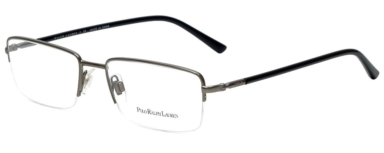 Ralph Lauren Polo Designer Eyeglasses PH1128-9050 in Gunmetal 53mm :: Progressive