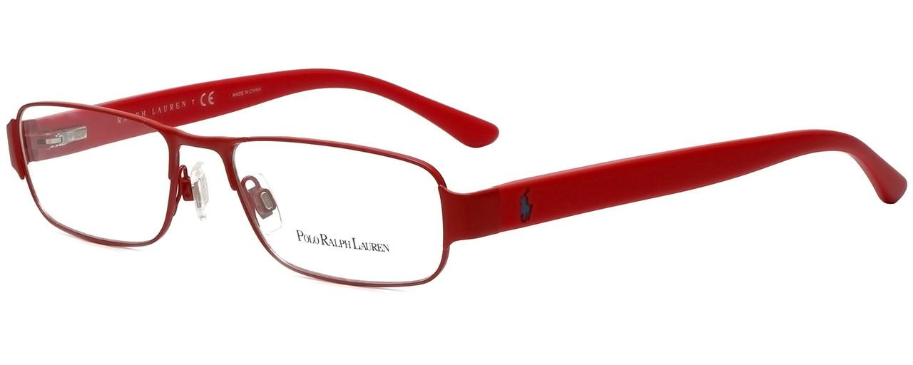 8d5ad6dc92b9 Ralph Lauren Polo Designer Reading Glasses PH1133-9243 in Matte Red 52mm -  Speert International