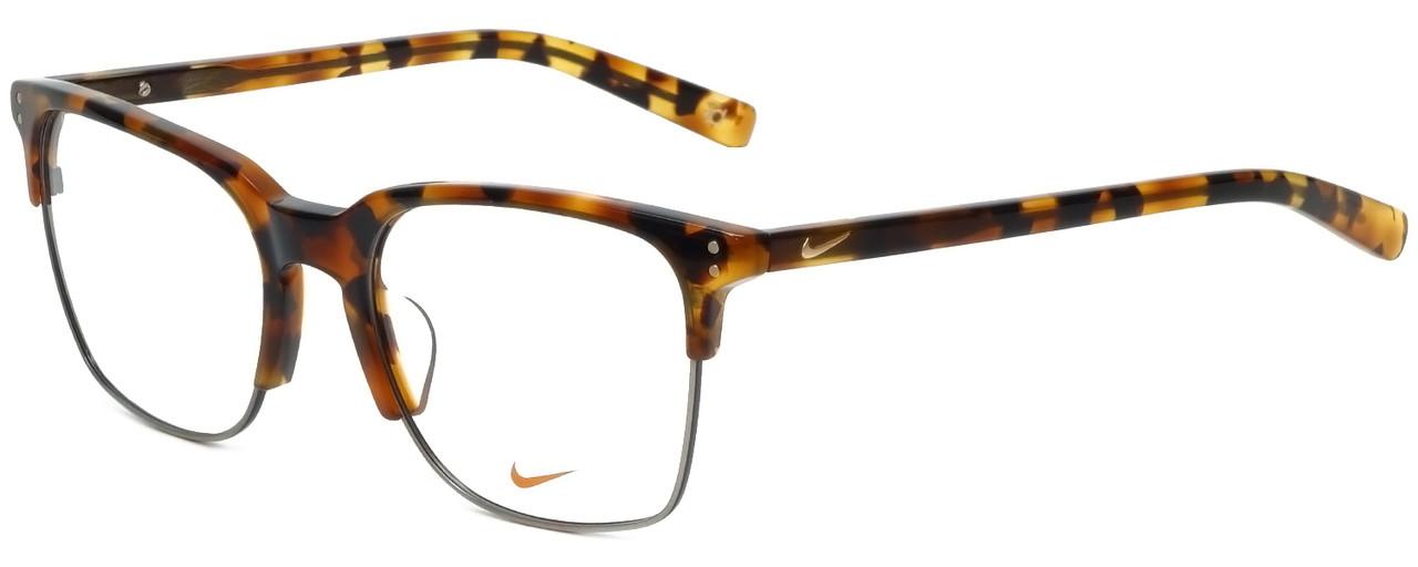 001ad020046 Nike Designer Eyeglasses 38KD-210 in Tokyo Tortoise 55mm    Custom Left    Right
