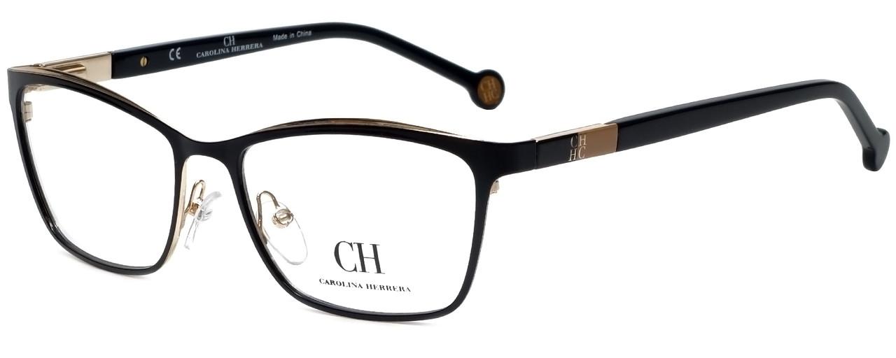 94622a47377 Carolina Herrera Designer Eyeglasses VHE083K-0301 in Black 54mm ...