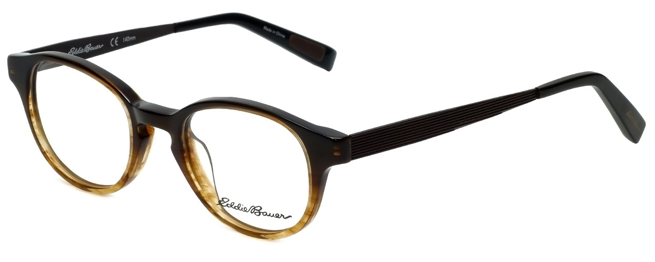 caf8c252bb Eddie Bauer Designer Eyeglasses EB32014-BR in Brown 47mm    Rx Bi ...