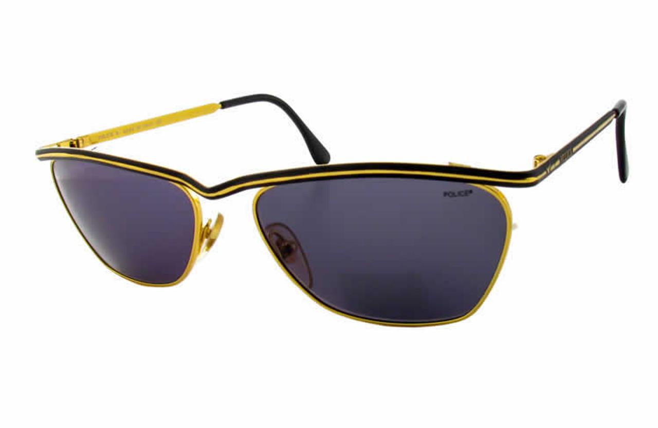 9f416197bb Police 2098 Gold Designer Sunglasses - Speert International
