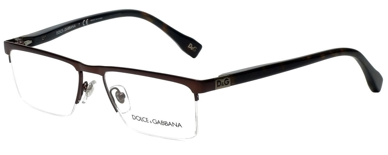 7fe7331f08d Dolce   Gabbana Designer Eyeglasses DD5104-152-50 in Brown 52mm    Custom