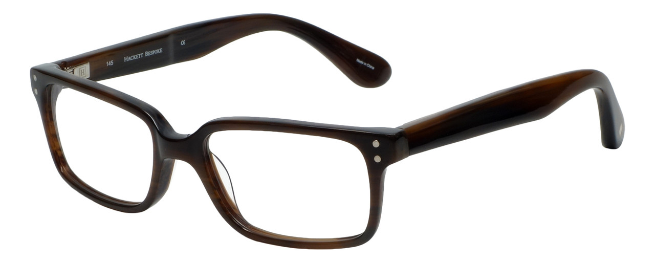 2ac6722d524 Hackett London Designer Reading Glasses HEB093-103 in Brown Horn 53mm