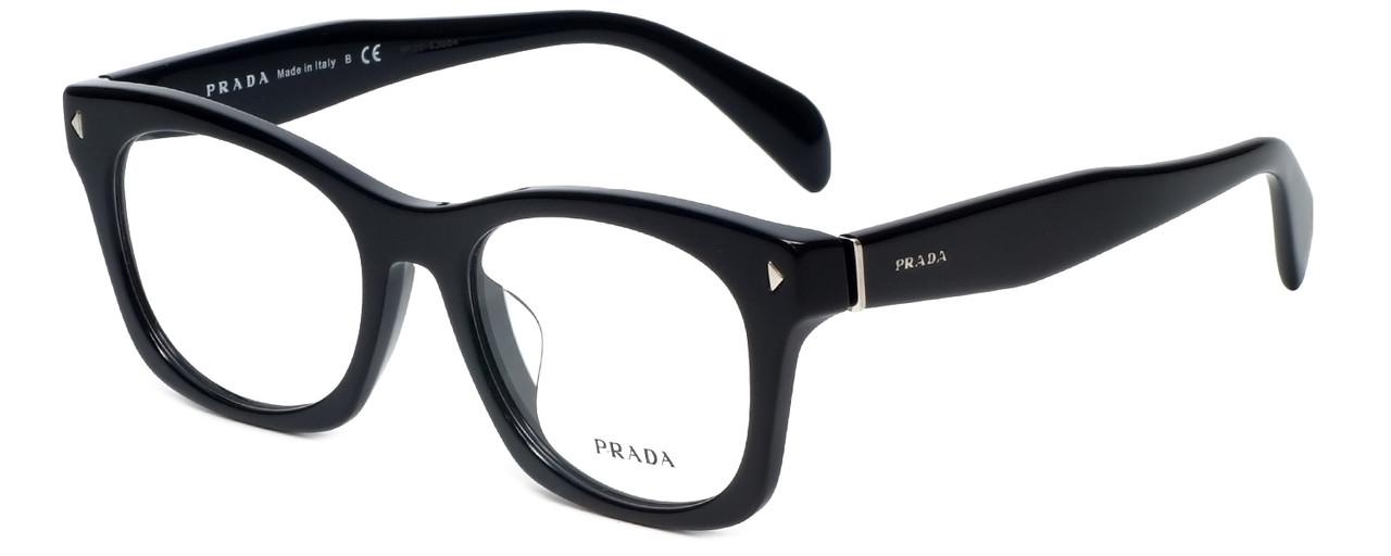 a0bdf2a41a45d Prada Designer Reading Glasses VPR11S-1AB1O1 in Black 53mm - Speert  International