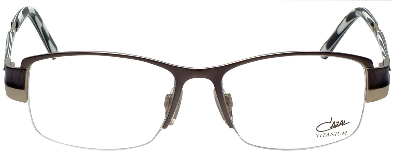 acd2ed68d145e Cazal Designer Eyeglasses Cazal-1086-001 in Gunmetal 52mm    Rx Single  Vision