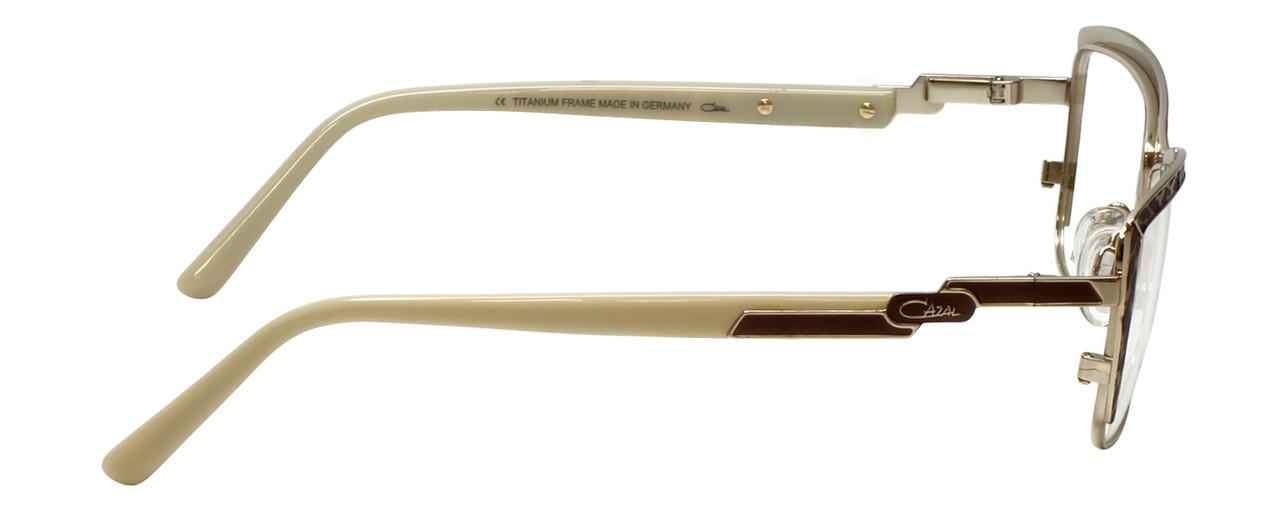 aa33afafc7d Cazal Designer Eyeglasses Cazal-4217-004 in Brown Leopard Cream 54mm    Rx