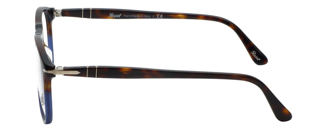 87fce0ab7d Persol Designer Reading Glasses Fuoco e Oceano PO9649V-1022-50 in Tortoise  Blue Gradient
