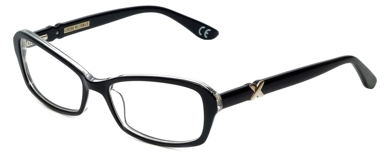 951abbcd3a4f Corinne McCormack Reading Glasses Bleecker-BLK in Black with Blue Light  Filter + A R Lenses - Speert International