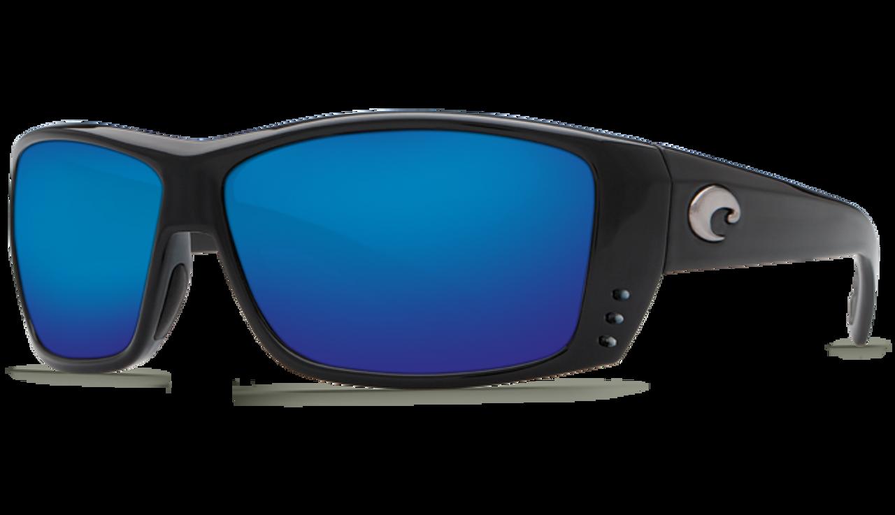 96240adda0 ... Costa Del Mar Cat Cay 580G Polarized Sunglasses. Previous. Black   Blue  Mirror Lens