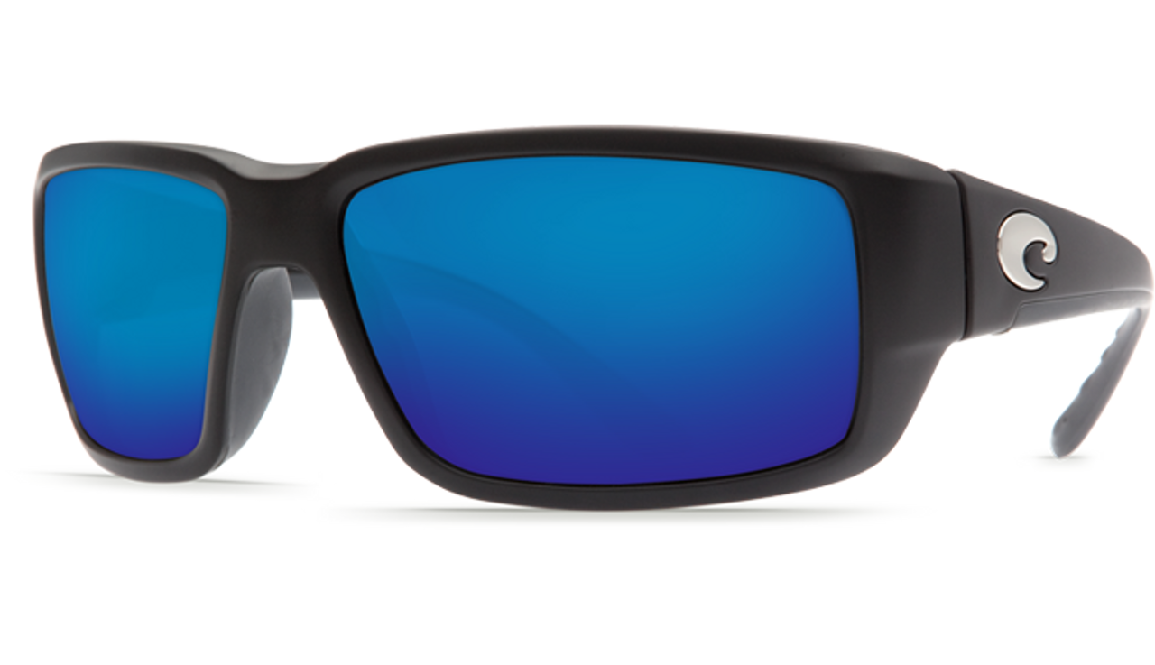 a5f5ef1834 ... Costa Del Mar Fantail 580G Polarized Sunglasses. Previous. Black   Blue  Mirror